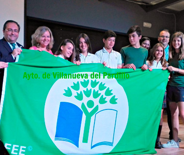 El ayuntamiento de Villanueva del Pardillo concede la Bandera Verde a Antavilla School