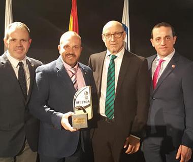 """Las Escuelas de Judo de los centros Antana Educacion reciben el premio a """"la mejor Escuela de Judo de España 2017"""""""